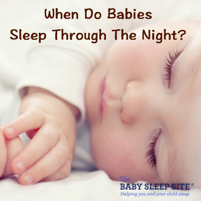 Can babies sleep through the night