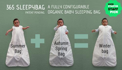 365 Sleepybag: The All-Seasons Sleep Sack That Grows With Your Baby