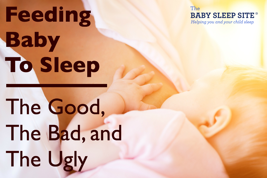 How to get a breastfed baby to sleep without nursing