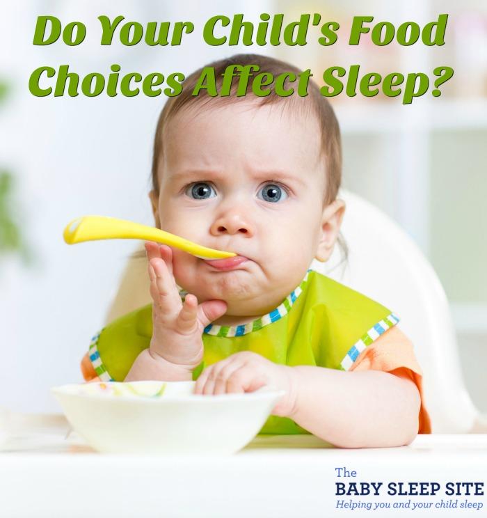 Do Your Child's Food Choices Affect Sleep?
