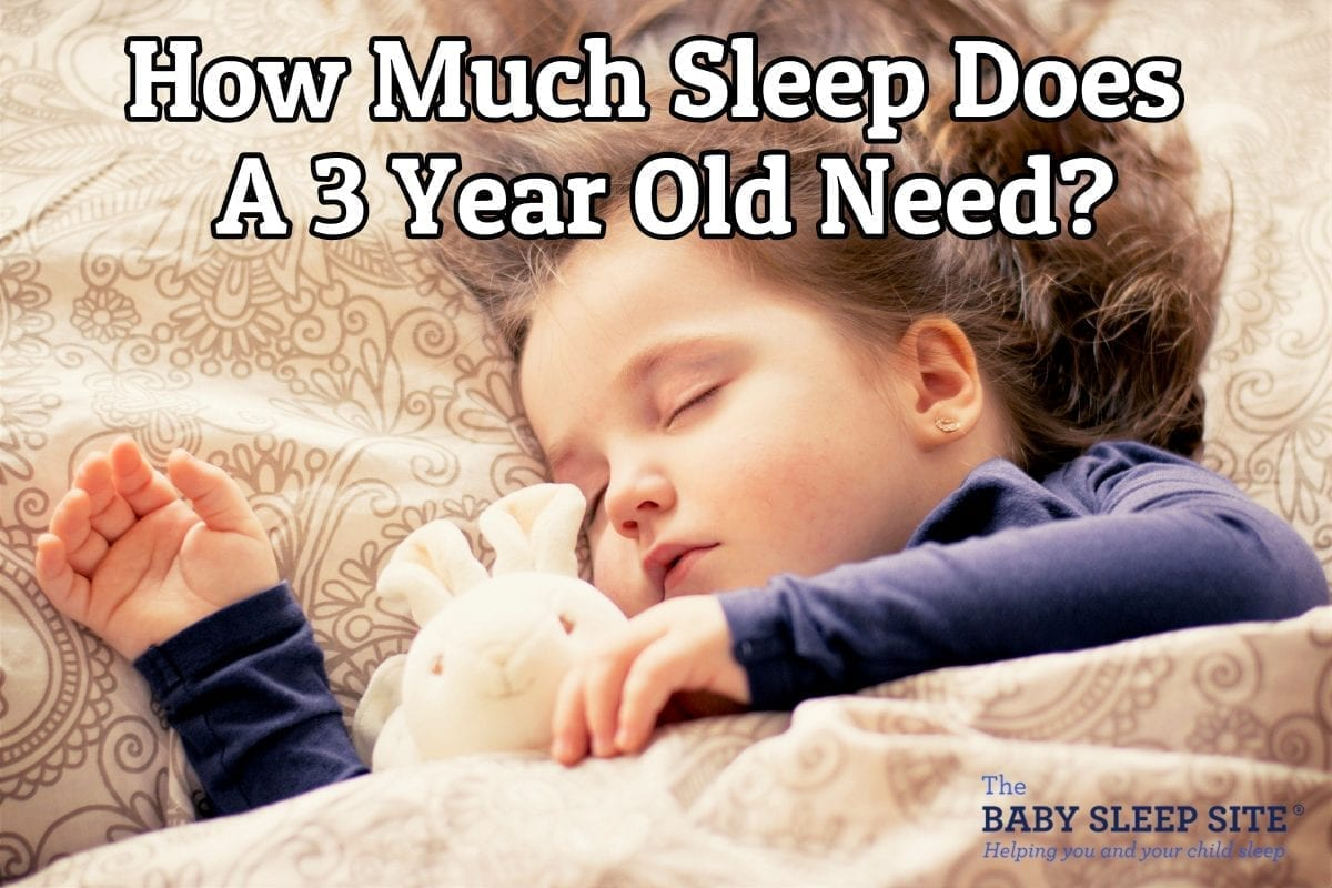 How Much Sleep Does a 3 Year Old Need?