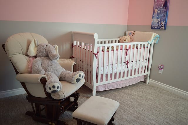 How to decorate your baby's room on a budget