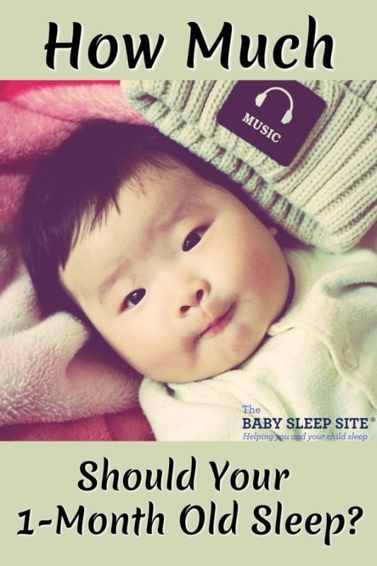 How Much Your 1-Month Old Baby Should Sleep